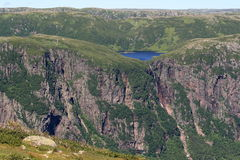 Landscape of Gros Morne National Park Royalty Free Stock Images