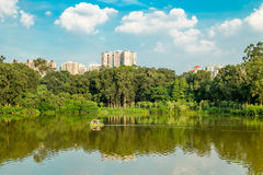 Landscape in GuangZhou China. Landscape in LUHU river GuangZhou China Stock Photo