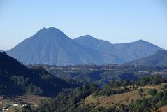Landscape in Guatemala Royalty Free Stock Photography