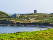 Landscape on the Guernsey Island, Channel Islands Stock Images