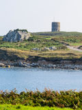 Landscape on the Guernsey Island, Channel Islands Royalty Free Stock Photo