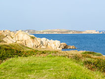 Landscape on the Guernsey Island Stock Photos