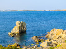 Landscape on the Guernsey Island Stock Photography