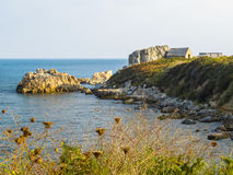 Landscape on the Guernsey Island Royalty Free Stock Photos
