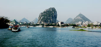 Landscape of Guilin Stock Photography