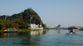 Landscape of Guilin Stock Image