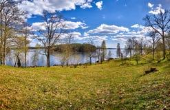 Landscape at Högakull Natural Reserve Royalty Free Stock Photography