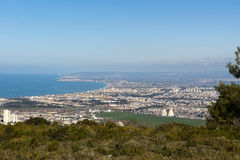 Landscape Haifa golf Israel Royalty Free Stock Images