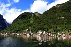 Landscape of Hallstatt Stock Images