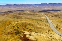 Landscape of HaMakhtesh HaGadol Royalty Free Stock Images