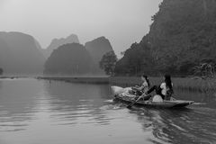 Landscape of hao lu, Tam Coc, vietnam Royalty Free Stock Photos