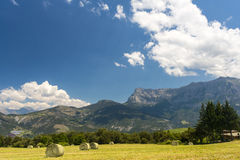 Landscape in Haute Provence Royalty Free Stock Photography