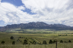 Landscape of High Mountain Stock Image