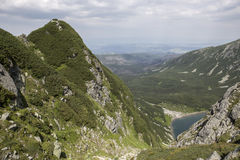 View to Black Pond from Tatra-Mountains Stock Photo