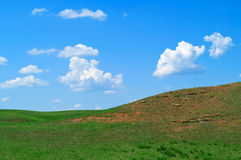 Landscape with hills Royalty Free Stock Photo