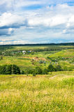 Landscape. Of a hilly region full of peace stock image