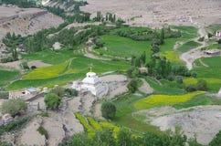 Landscape in Likir, in Ladakh Stock Photos