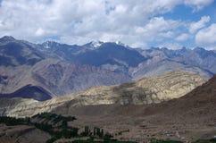 Landscape in Likir, in Ladakh Stock Photo