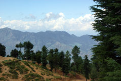 A Landscape in Himalayas Royalty Free Stock Photos