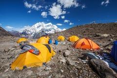 Landscape of Himalayas mountains. Beautiful landscape of Himalayas mountains Stock Photo