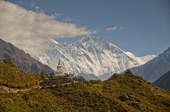 Landscape of Himalayas Royalty Free Stock Photos