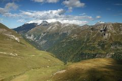 Landscape from Hohe Tauern Stock Photo
