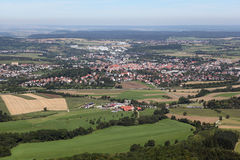 Landscape from Hohenzollern Royalty Free Stock Images