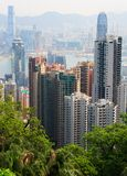Landscape of Hong Kong. Royalty Free Stock Photos