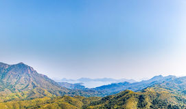 Landscape of Hong Kong countryside Stock Images