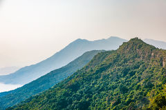 Landscape of Hong Kong countryside Stock Image