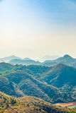 Landscape of Hong Kong countryside Royalty Free Stock Image