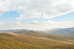 Landscape of Hustai National Park, Mongolia Stock Photo