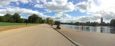 Landscape Hyde Park, London Stock Image