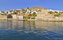 Landscape of Hydra Greece Stock Photos