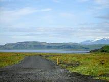 Landscape Iceland. Green Nature Landscape in Iceland Royalty Free Stock Image