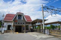 Landscape of IIda in Nagano, Japan Royalty Free Stock Image