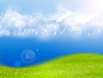 Landscape illustration Royalty Free Stock Image