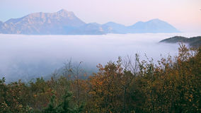 Landscape with the image of mountains Royalty Free Stock Image