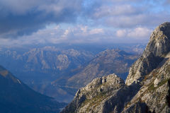 Landscape with the image of mountains Royalty Free Stock Photography