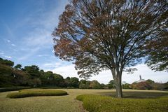 Landscape at Imperial Palace, Japan Stock Photo