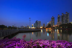 Landscape of  important landmark of bangkok Royalty Free Stock Photos