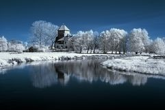 Landscape In The Infrared Stock Photography