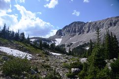 Landscape of Indian Peaks Wilderness Royalty Free Stock Photos