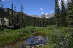 Landscape of Indian Peaks Wilderness Stock Photos