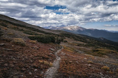 Landscape in the Indian Peaks Wilderness, Colorado Stock Photos