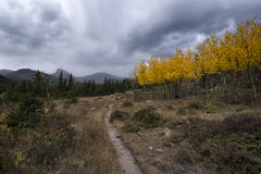 Landscape in the Indian Peaks Wilderness, Colorado Stock Photography