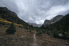 Landscape in the Indian Peaks Wilderness, Colorado Stock Image
