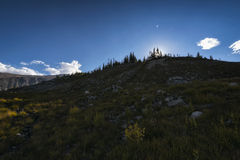 Landscape in the Indian Peaks Wilderness, Colorado Stock Photo