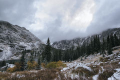 Landscape in the Indian Peaks Wilderness, Colorado Stock Images