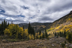 Landscape in the Indian Peaks Wilderness, Colorado Royalty Free Stock Photos